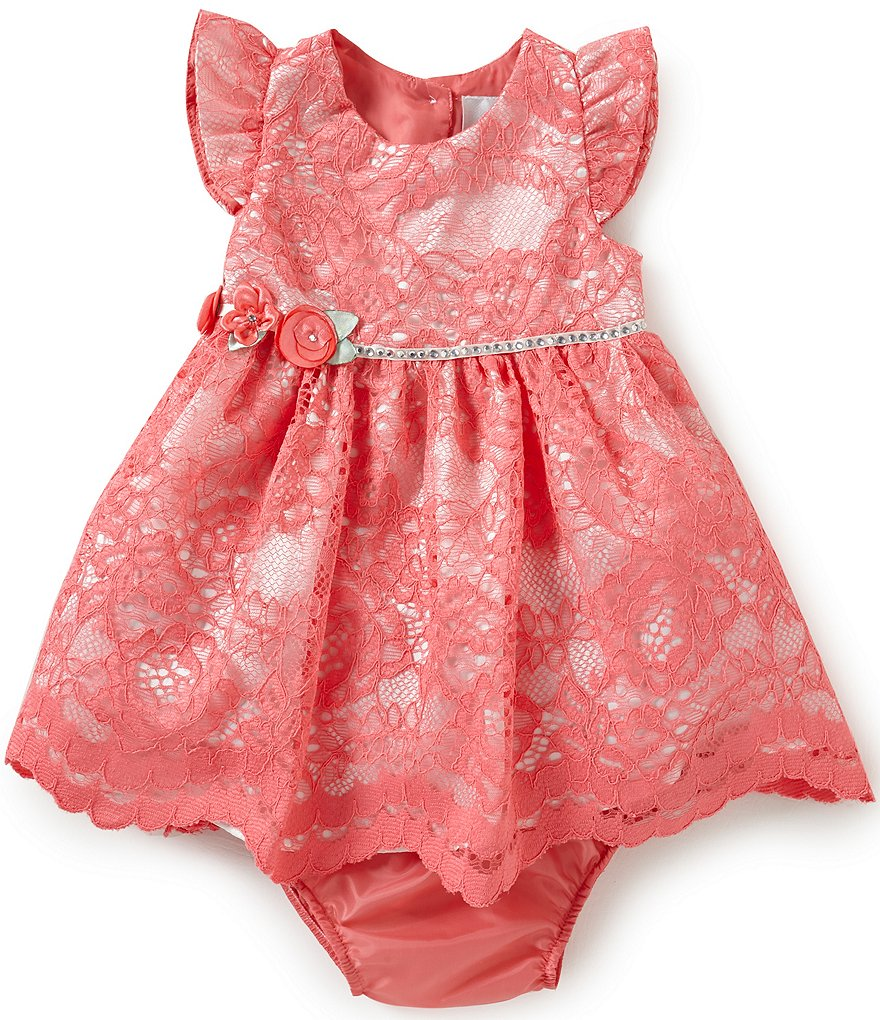 Rare Editions Baby Girls 3 24 Months Lace Dress