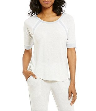 DKNY Color Block Jersey Raglan Sleep Top