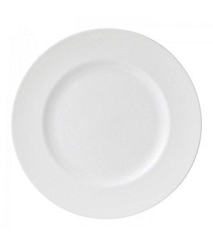 Wedgwood White Bone China Dinner Plate