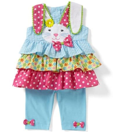 Rare Editions Baby Girls 3 24 Months Easter Bunny