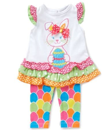 Rare Editions Baby Girls 3 24 Months Easter Bunny Dress