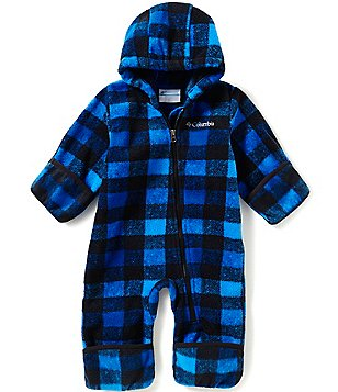 Columbia 3-24 Months Snowtop II Plaid Hooded Bunting
