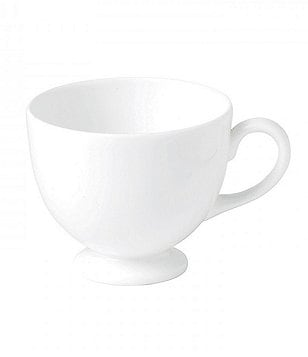 Wedgwood White Bone China Teacup