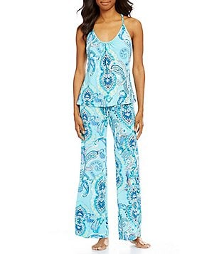 In Bloom by Jonquil Sea Ridge Paisley Pajamas