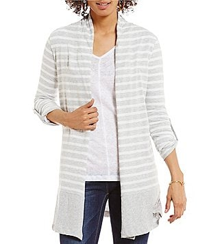 Two by Vince Camuto Roll Tab Ink Stripe