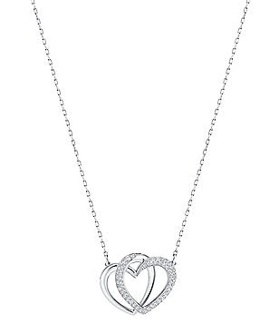 Swarovski Dear Pavé Heart Pendant Necklace