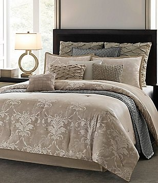 candice OLSON Essence Distressed Damask Comforter Set