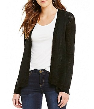 Wyldehart Long Sleeve Hi-Lo Cardigan