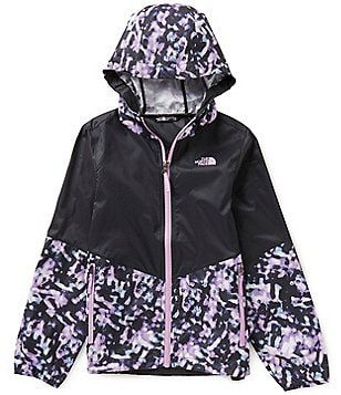 The North Face Big Girls 5-18 Flurry Wind Abstract Printed Hoodie