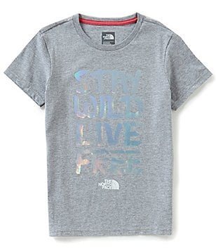The North Face Big Girls 5-18 Stay Wild Short-Sleeve Tee
