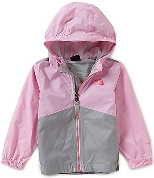 The North Face Little Girls 2T-4T Flurry Wind Hooded Jacket