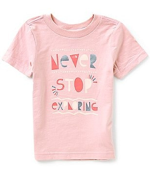 The North Face Little Girls 2T-4T Never Stop Exploring Short-Sleeve Tee
