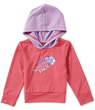 The North Face Little Girls 2T-4T Hooded Long-Sleeve Hike/Water Tee
