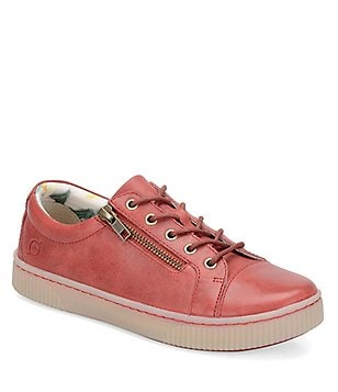 Born Tamara Casual Leather Lace-Up Sneaker