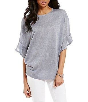 Cremieux Asher Ruffle Sleeve Top