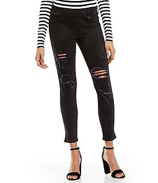 True Religion Jeg Runway Destruction Legging