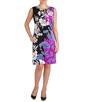 Peter Nygard Petite Floral Sloane Sheath Dress