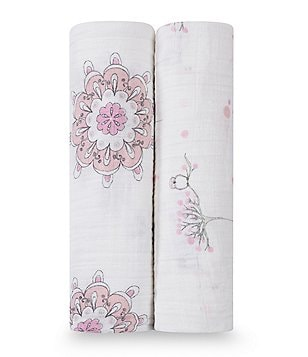 Aden + Anais 2-Pack Muslin Classic Swaddle Blankets