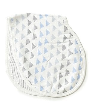 Aden + Anais Baby Boys Blue Moon Silky Soft Burp Bib