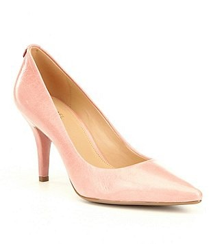 MICHAEL Michael Kors MK-Flex Pointed Toe Slip On Mid Pumps