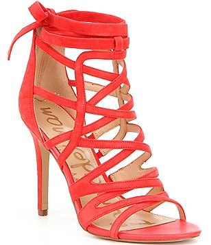 Sam Edelman Alba Wraparound Caged Sandals