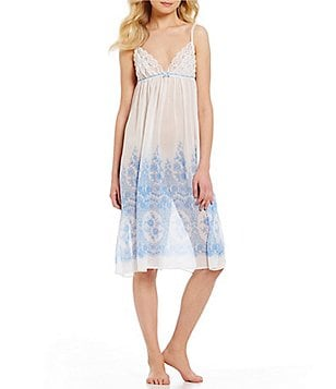 In Bloom by Jonquil Morning View Chiffon & Lace Chemise