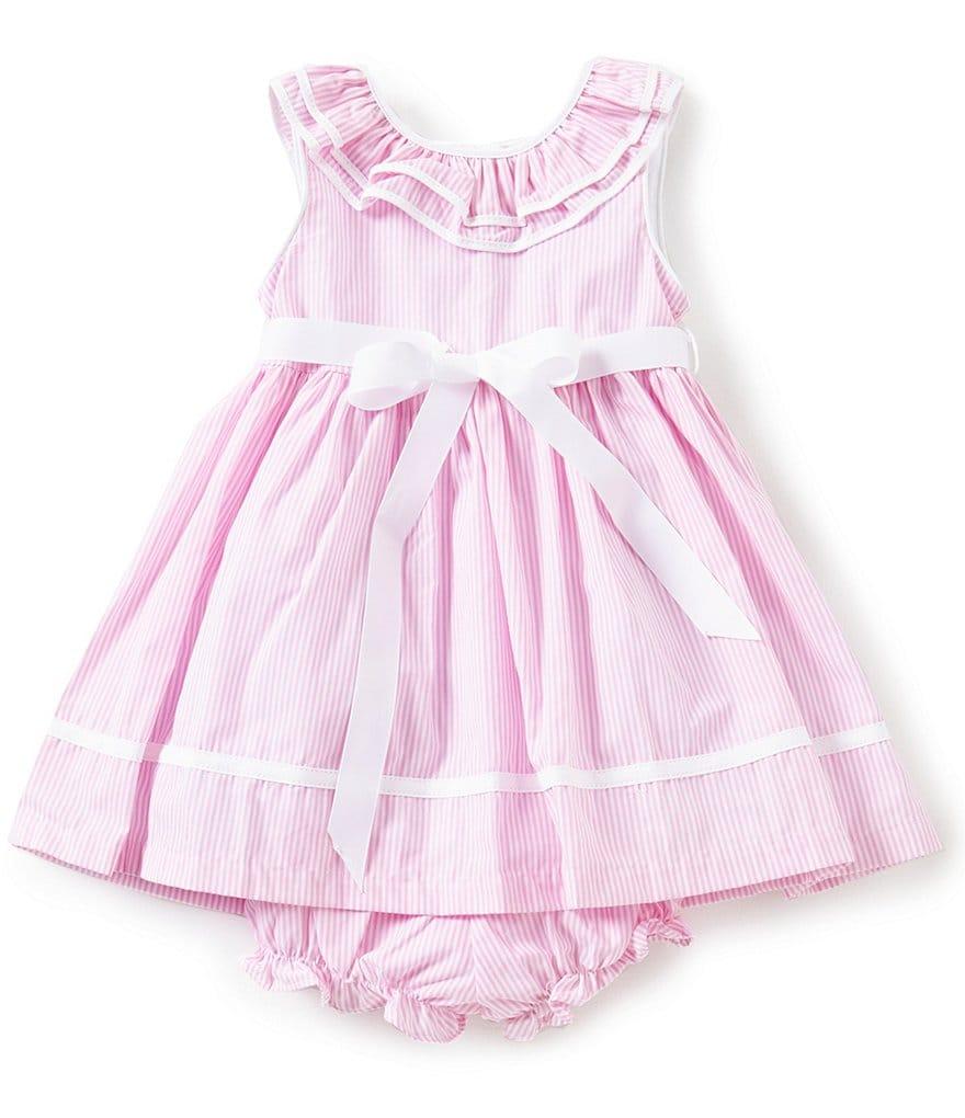 Laura Ashley London Baby Girls 12 24 Months Platter Collar