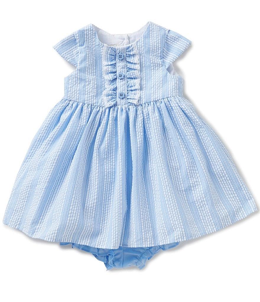 Marmellata Baby Girls 12 24 Months Striped Seersucker
