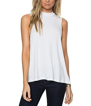 O´Neill Donovan Mock Neck Rib Knit Tank Top