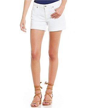 True Religion Emma Mid-Rise Roll Cuff Bermuda Short