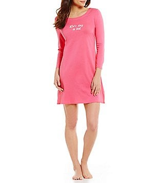 kate spade new york Let´s Stay in Bed Jersey Sleepshirt