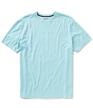 Cremieux Lounge Short-Sleeve Solid Crewneck Knit Tee