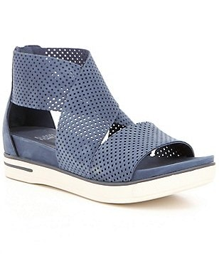 Eileen Fisher Sport2 Perforated Sandals