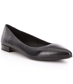 ECCO Shape Leather Slip-On Point Ballet