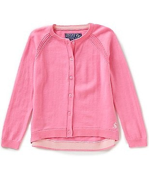 Joules Little Girls 3-6 Cadence Summer Button-Front Cardigan