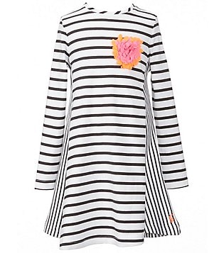 Joules Little Girls 3-6 Loralie Striped Applique Dress