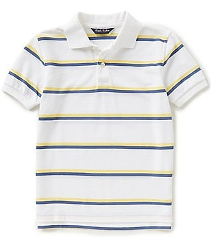 Brooks Brothers Little/Big Boys 4-20 Striped Pique Short-Sleeve Polo Shirt