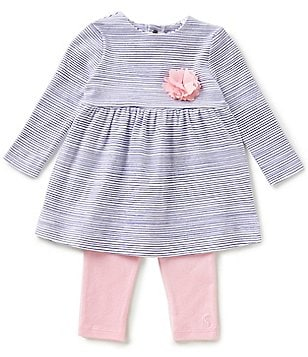 Joules Baby Girls Newborn-12 Months Christina Striped Long-Sleeve Top & Leggings Set