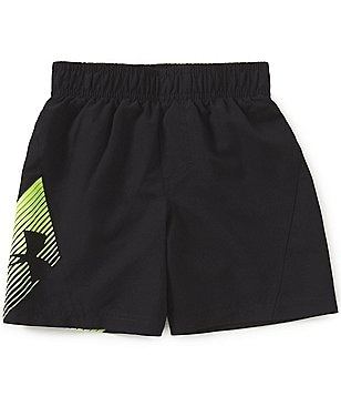 Under Armour Little Boys 2T-7 Slash Volley Swim Shorts