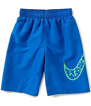 Nike Big Boys 8-20 Core Swoosh Swim Trunks