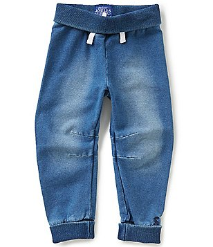 Joules Baby/Little Boys 12 Months-3T Hugo Denim Jersey Pull-On Pants
