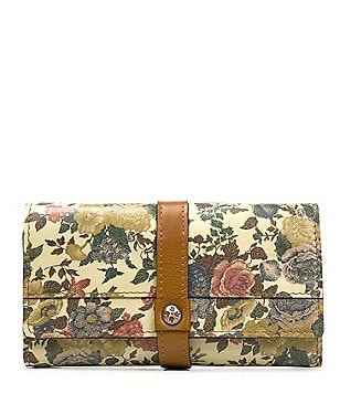 Patricia Nash Denim Fields Collection Murcia Floral Wallet