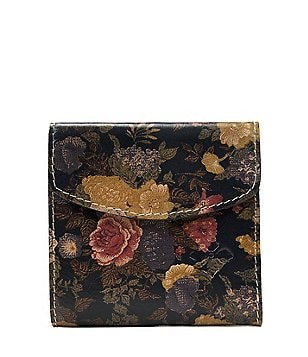 Patricia Nash Denim Fields Collection Rieti Floral Wallet