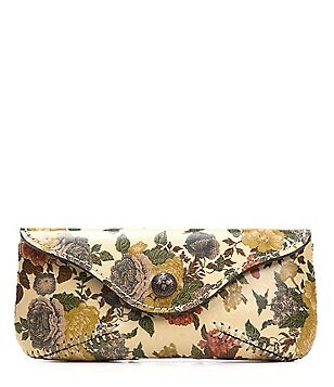 Patricia Nash Denim Fields Collection Ardenza Floral Sunglasses Case