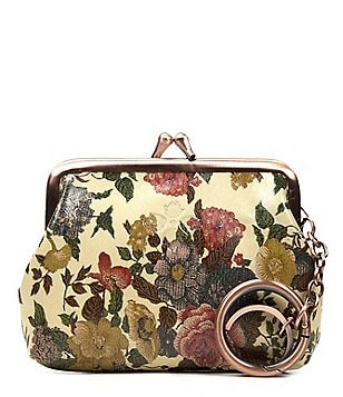 Patricia Nash Denim Fields Collection Borse Floral Coin Purse