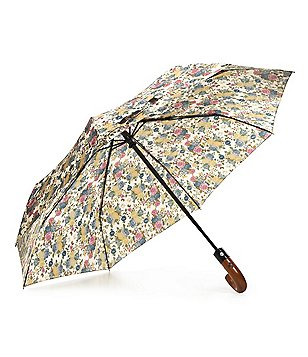 Patricia Nash Denim Fields Collection Magliano Floral Umbrella