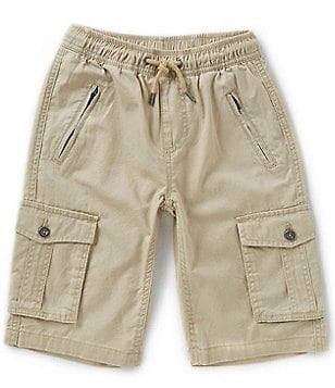 Buffalo David Bitton Big Boys 8-20 Hatown Washed Twill Pull-On Shorts