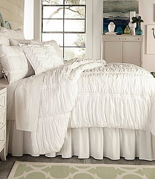 Studio D Allegro Ruched Cotton Percale Comforter