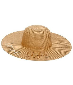 GB Girls Love Life Sequin Floppy Hat