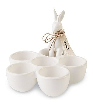 Mud Pie Easter Ceramic Bunny Egg Cup